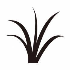 草シルエット イラストの無料ダウンロードサイトシルエットac