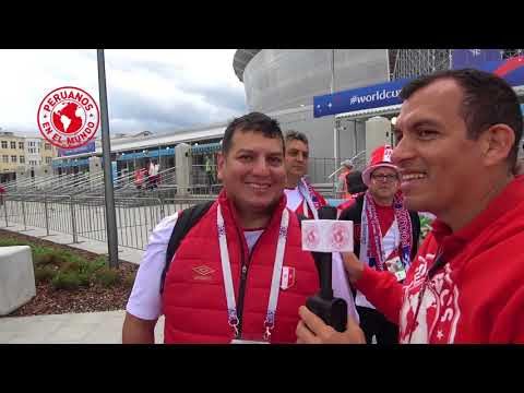 Peru vs Francia (Ekaterimburgo) PeruanosEnElMundo - EdicionMundialista con Roberto Pazos