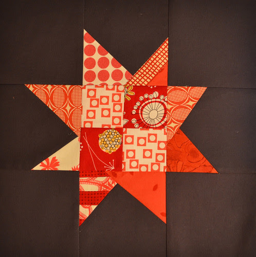 Wonky Star - for Twelve Month Quilting Bee