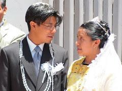 Mariage se déroulant un samedi à Almolonga