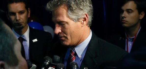 Scott Brown concedes defeat after Tuesday's election.
