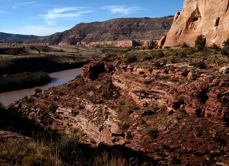 Ruby Canyon, Colorado River, Colorado