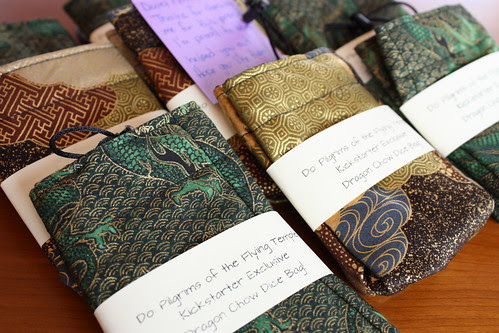 Lyndsay Peters' Dragon Chow Bags for Do: Pilgrims of the Flying Temple