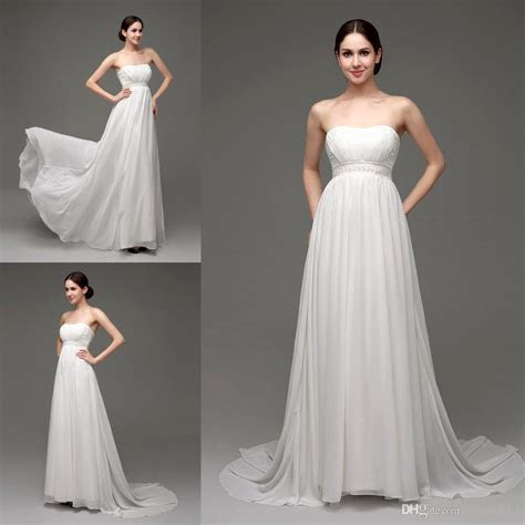 Discount Elegant Greek Maternity Wedding Dresses For