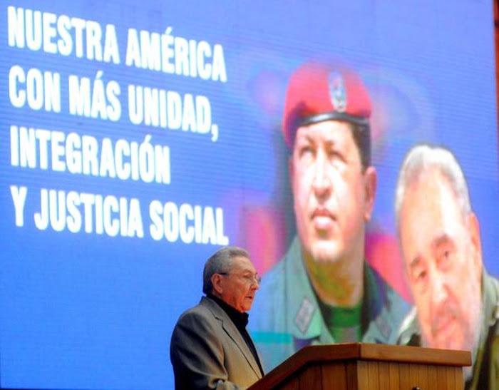 Llama Raúl Castro a solidarizarse con Venezuela. (Foto: ACN)