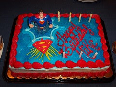 100_4977 Mike's Superman Birthday cake