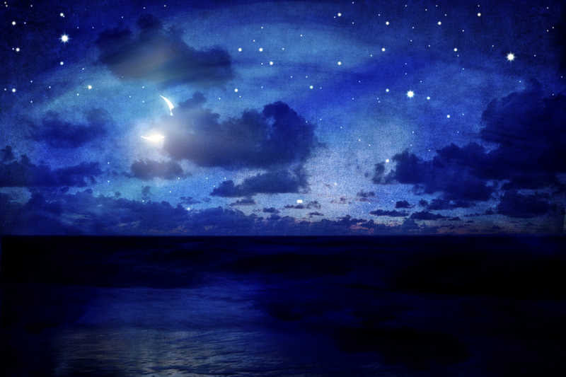 Good Night Sweet Dreams Hugs Kisses Rainbows Moons Stars