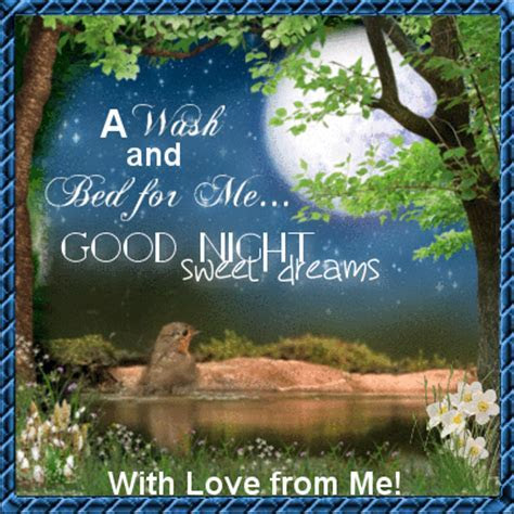 With Love From Me! Free Good Night eCards, Greeting Cards