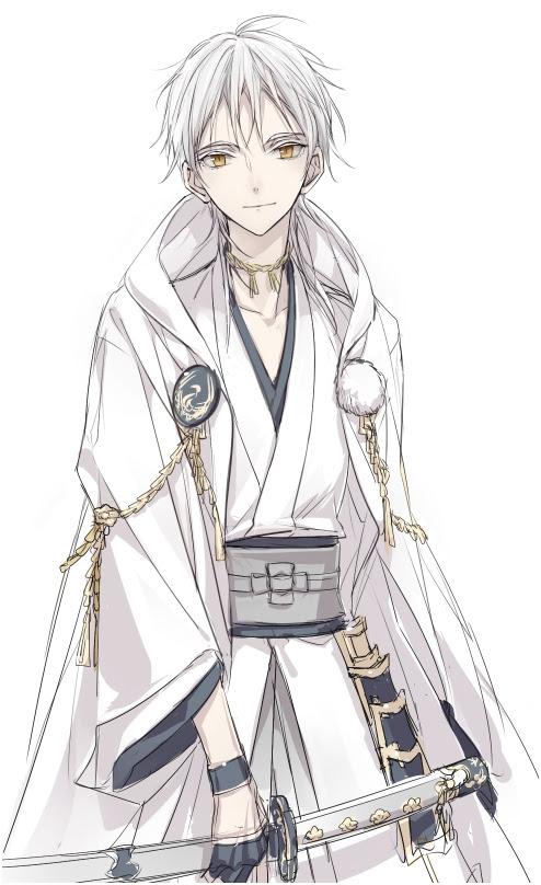 刀剣乱舞公式絵師のizumi先生が鶴丸国永の新しい非公式イラストを描い