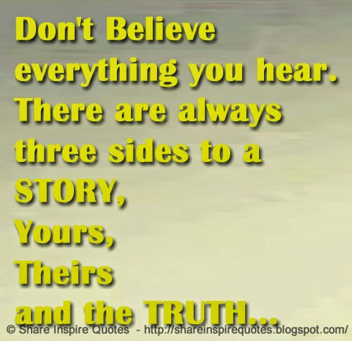 Quotes About Believe What You Hear 39 Quotes