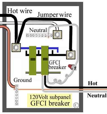 Wiring Manual PDF: 110 Volt Gfci Breaker Wiring Diagram