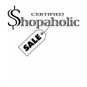Shopaholic shirt