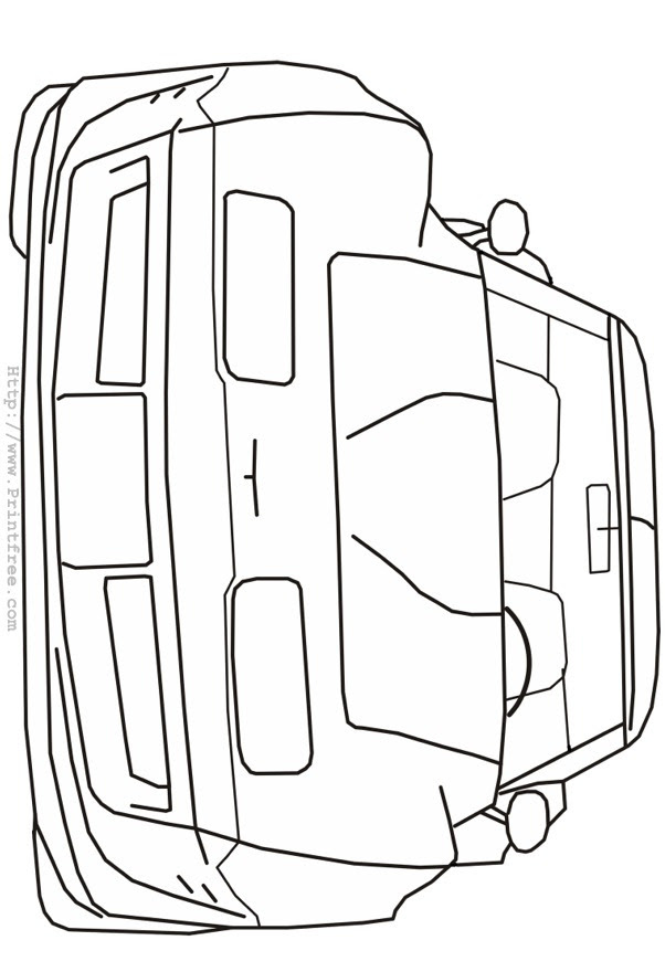 Late nineties Corvette front outline image