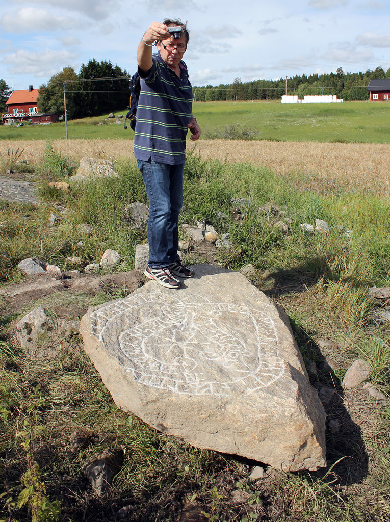 Documenting the new-found runestone