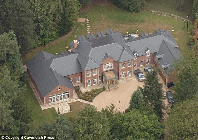 The Rooneys bought their eight-bedroom pile in 2013, not far from the home of Wes Brown