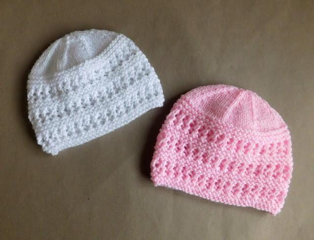 Two Baby Hat Knitting Patterns  AllFreeKnitting.com