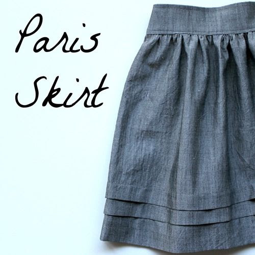 Paris Skirt - nothingtoofancy blog