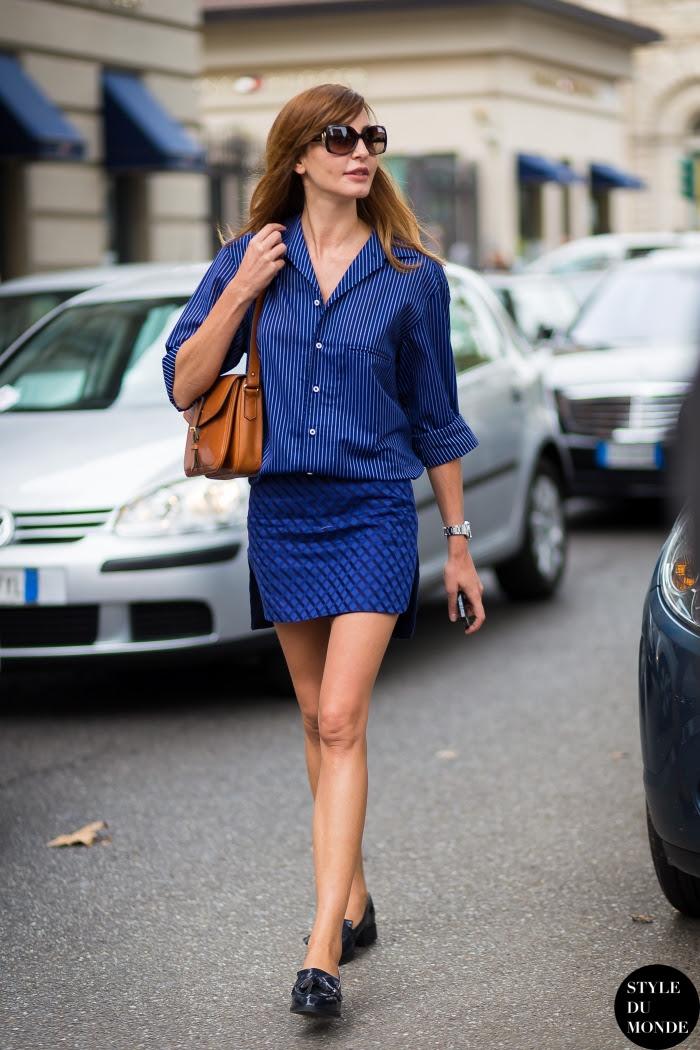 Ece Sukan Street Style Street Fashion Streetsnaps by STYLEDUMONDE Street Style Fashion Blog