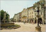 Square in Lvov, Ukraine