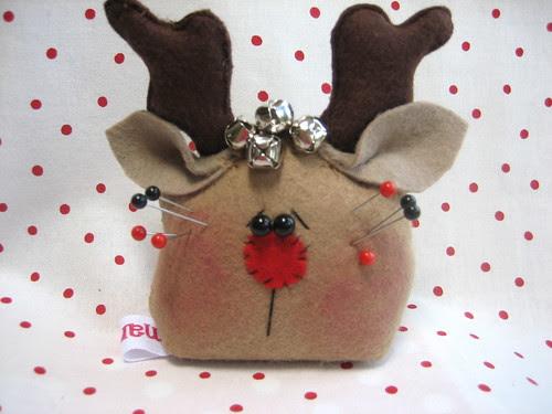 Reindeer Pincushion
