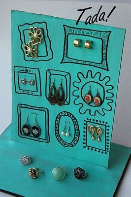 Diy Earring Display