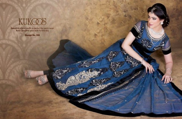 Beautiful-Girls-Party-Wear-Anarkali-Churidar-Frock-Shalwar-Kamiz-Dress-by-Kukoos-Exclusive-4
