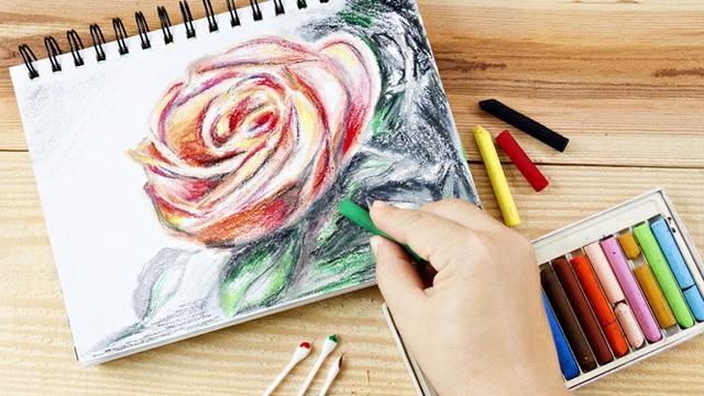 Cara Menggambar Bunga Matahari Sketsa Gambar Bunga Mawar - Koleksi Gambar Bunga