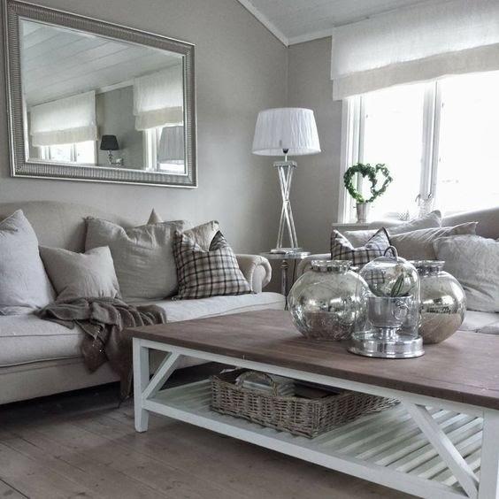 wohnzimmer deko silber - shermansweblog