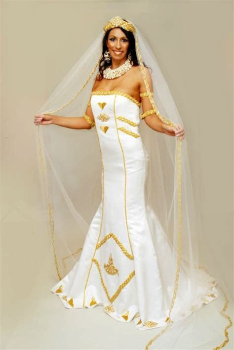 17 Beautiful African Wedding Dresses   Traditional, Egypt