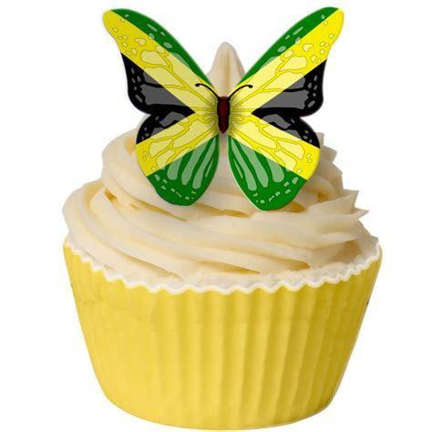 Jamaican Cupcake cake topper   Food!!!   Cake decorating