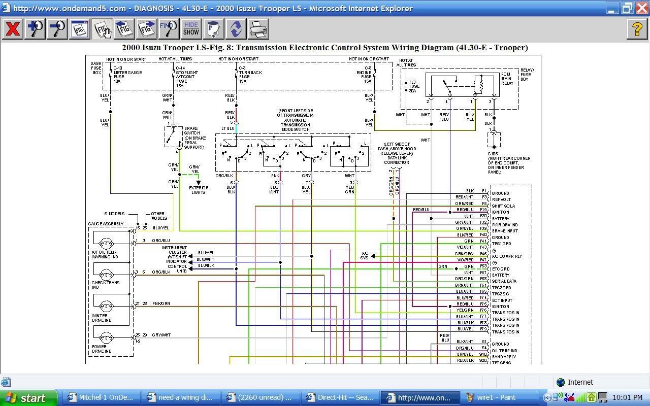 Wiring Diagram: 31 2001 Isuzu Npr Wiring Diagram