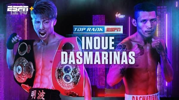 Watch Boxing Naoya Inoue Vs Michael Dasmarinas 6/19/21 19th June 2021 Online Full Show Free