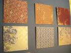 Scrapbook Paper Wall Art - Paper Wall Decor