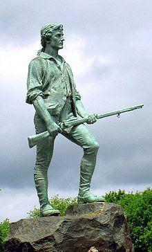 Minute Man Statue, Lexington