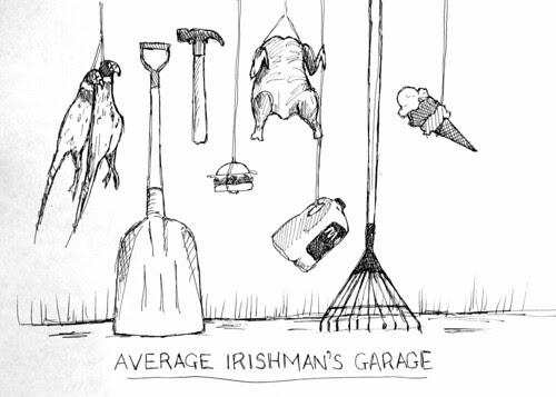 Average Irishman's Garage
