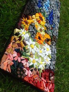 Smalti mosaic by Julie Kitching