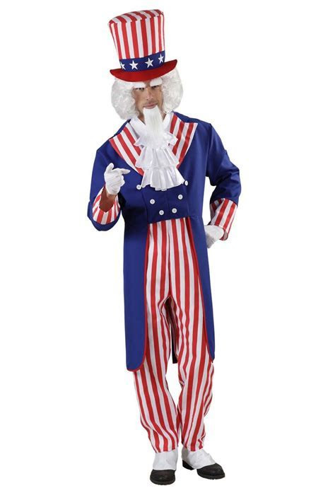 Uncle Sam costume for adults: Adults Costumes,and fancy