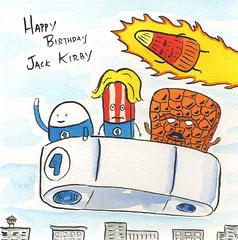 Happy Birthday Jack Kirby