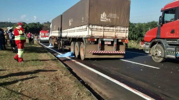 Acidente deixa dois mortos em Jaciara - Foto: Miriam Trento / AGORA MT