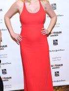 Lara Stone pregnant boobs