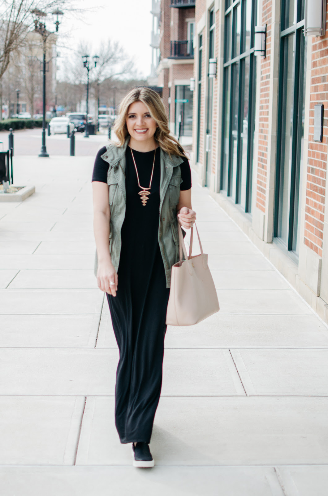 maxi dress sneakers outfit  cute casual outfit for spring
