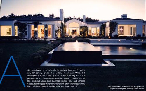 interior design, home ideas, style compass, home, architecture, 1stdibs, Jennifer Post, architect, aesthetic, design, seamless interior, Los Angeles