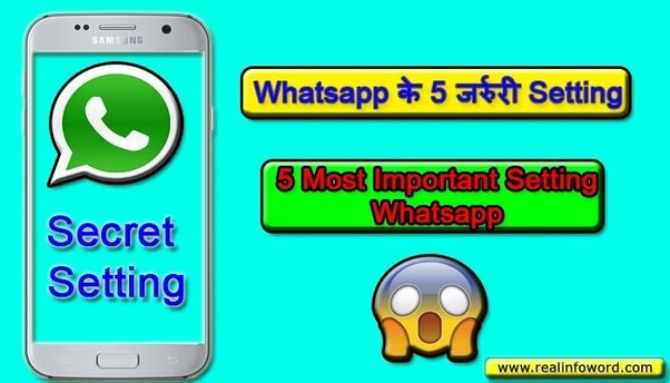 Whatsapp Most Important Setting Tips And Tricks 2019-20