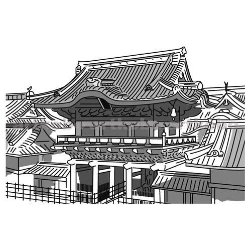 Web教材イラスト図版工房 S日光東照宮陽明門