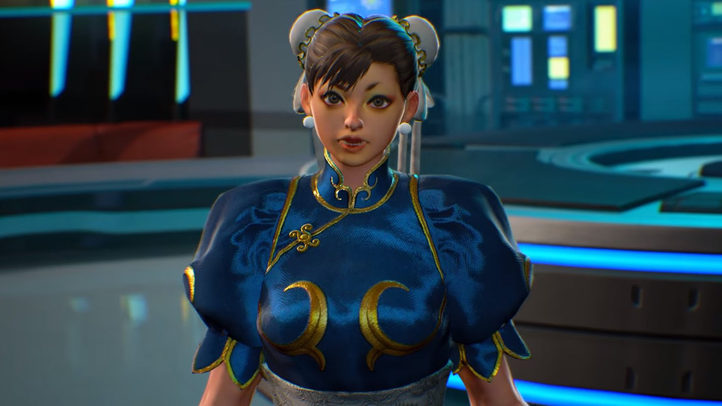 Capcom is fixing Chun-Li's face in Marvel vs. Capcom Infinite with a day-one patch screenshot