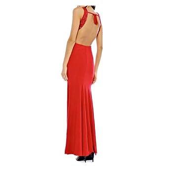 Backless evening maxi dresses