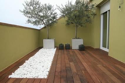 Suelos de madera para patios