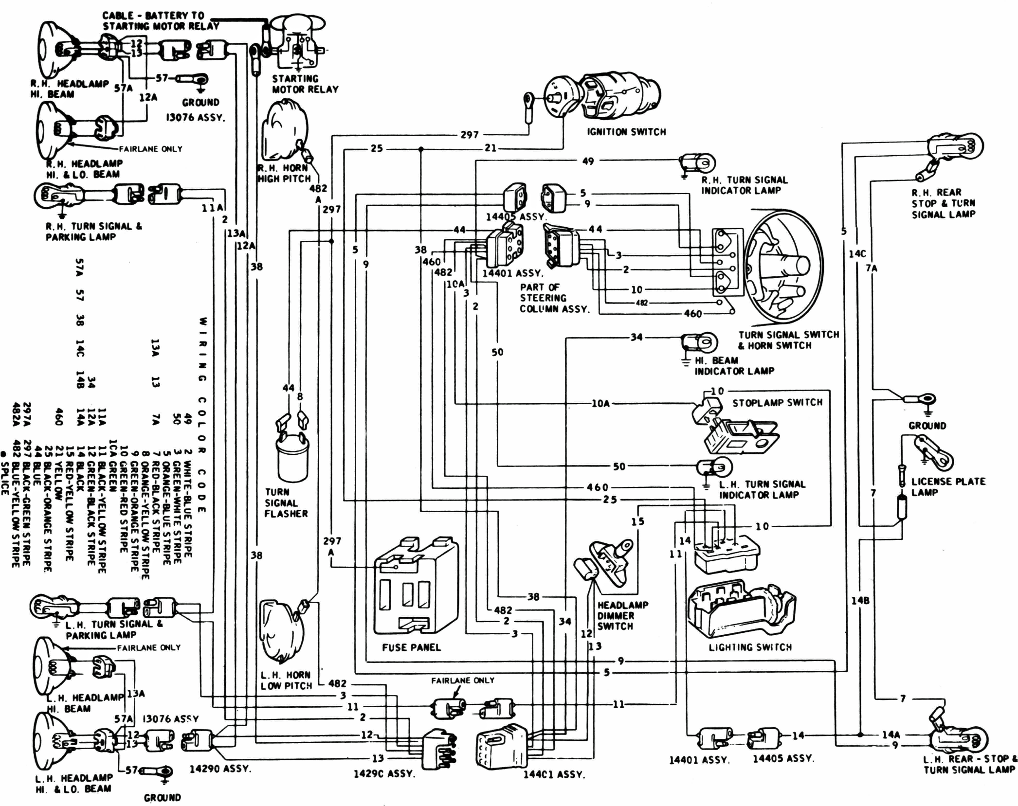 1964 Ford Galaxie Wiring Harness Wiring Diagram Monitor1 Monitor1 Maceratadoc It
