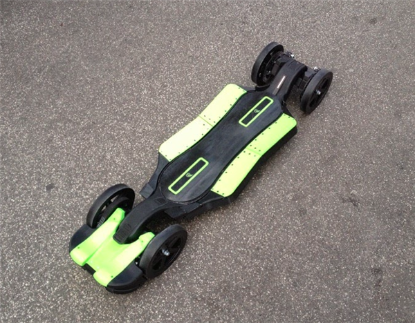 Faraday Motion Wants To Teach You To Build Your Own 3D Printed Electric Skateboard