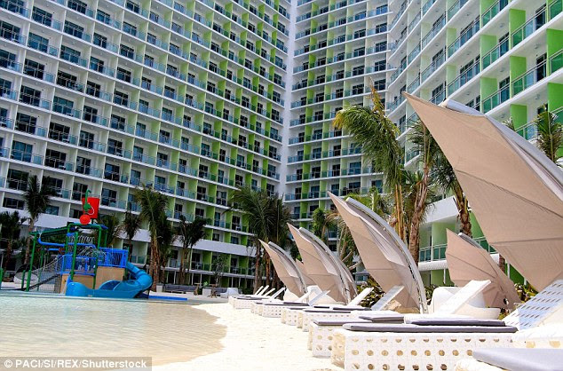 Paris Hilton was involved in the design of the Paris Beach Club at Azure Urban Resort Residence in Manila and a second Paris Beach Club has recently broke ground in the city